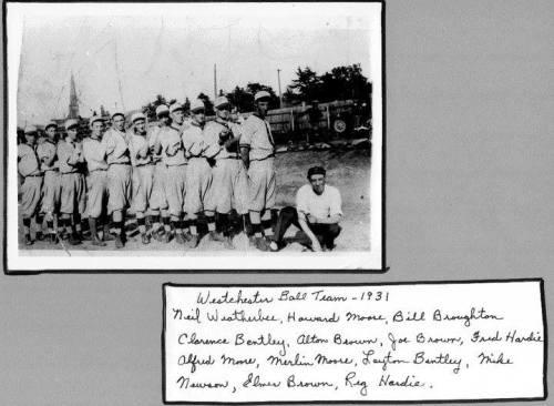 1931 ball team